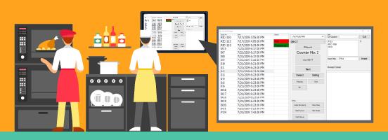 fnb kitchen queue management