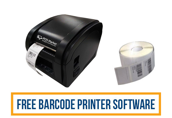 thermal barcode printer with software