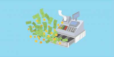 close shift function and cash drawer management